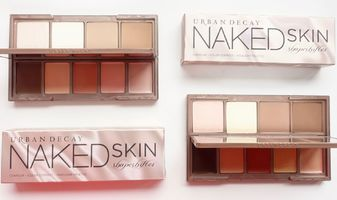 Urban Decay Naked Skin Shapeshifter contour - colour correct - highlight palettes
