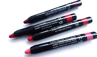 Chanel Le Rouge crayon de couleur - swatches & review