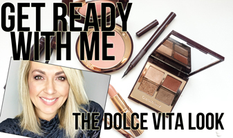 Get ready with me | Charlotte Tilbury The Dolce Vita look
