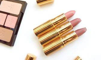 Charlotte Tilbury Pillow Talk, Valentine & Very Victoria lipsticks - swatches & review