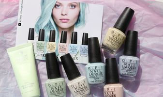 OPI Soft Shades pastels - swatches & review