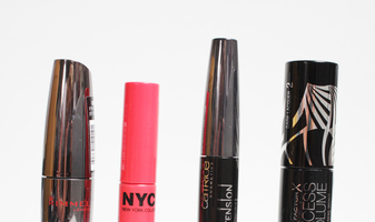 Mascara's in de test - Rimmel London, NYC, Catrice & Max Factor