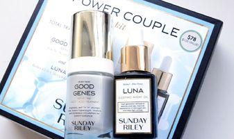 Sunday Riley Powder Couple - Good genes exfoliant & Luna sleeping oil