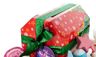 All I want for christmas is....een Lush kerstcadeau