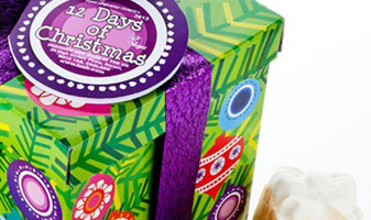 Win een Lush 12 days of christmas cadeau t.w.v. EUR 75,00 op Facebook