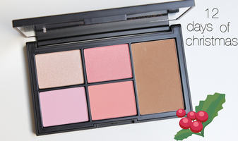12 days of christmas winactie - dag 6 NARS Virtual Domination blush/bronzer/highlight palette