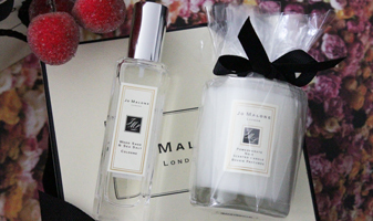 12 days of christmas winactie - dag 10 Jo Malone cologne & mini geur kaars