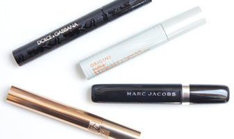 Mascara's in de test - Yves Saint Laurent, Marc Jacobs, Origins en Dolce & Gabbana