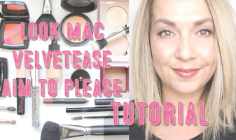 Face of the day - MAC Velvetease Aim to Please + video tutorial