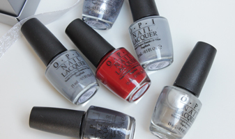 OPI Fifty shades of grey collectie - swatches
