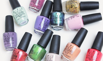 OPI Hawaii collectie - swatches van alle 12 kleuren