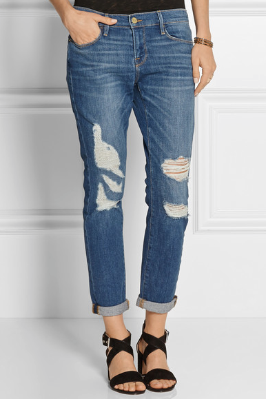 Fashion De 10 Coolste Ripped Amp Destroyed Jeans Beautyscene