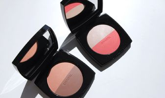 Chanel Les Beiges Healthy Glow Multi-colour duo 01 & 02 - swatches & review