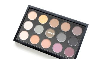 MAC eye shadow X 15 Mellow Moderns/eerste indruk, swatches & twee looks