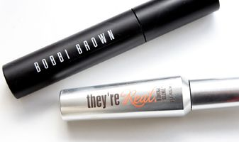Geen nepwimpers nodig - Bobbi Brown Eye opening mascara & Benefit They're real primer