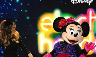 Disney & Barneys New York present Electric Holiday starring Minnie Mouse