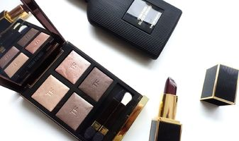 Tom Ford Nude dip eye color quad & Black Orchid Lip Color