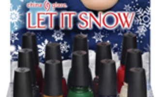 China Glaze Let it snow - holiday 2011