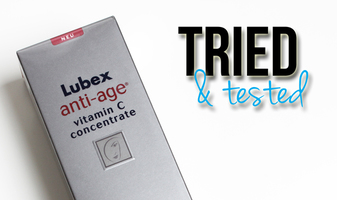 Tried & tested - Lubex anti-age vitamin C concentrate