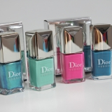 Dior Bird of Paradise - summer nail lacquer duo Samba & Bahia swatches