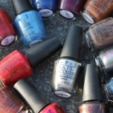 OPI San Francisco collectie - swatches, foto's en review