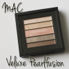 MAC Veluxe Pearlfusion Shadow Peachluxe (review + look)
