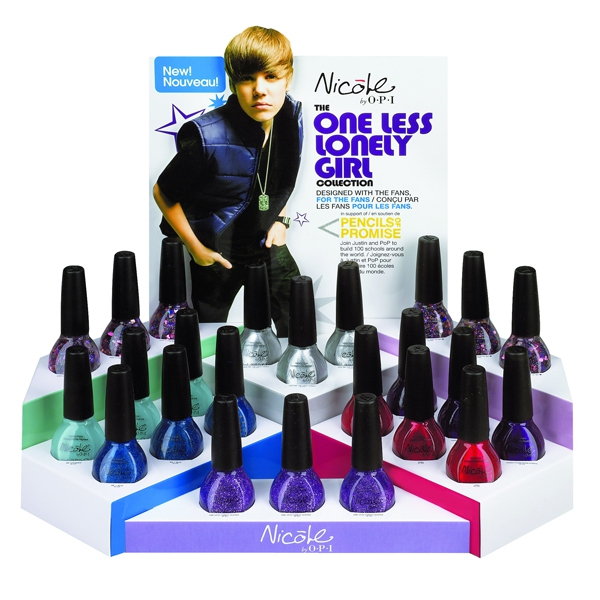 Nicole by OPI One less lonely girl by Justin Bieber nagellakjes ook ...