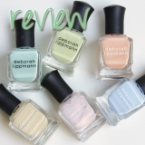 Deborah Lippmann Spring Reveries collectie - swatches