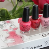 OPI Couture de Minnie Runway Minnies swatches & review