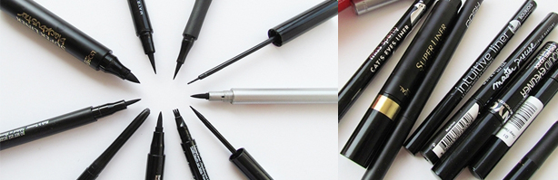 Eyeliners in de test - Review en foto's