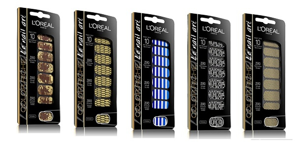 Bling Loreal Color Riche Nail Art Nagelstickers Beautyscene