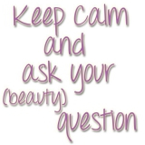 Keep calm and ask your (beauty) question - week 42 2014