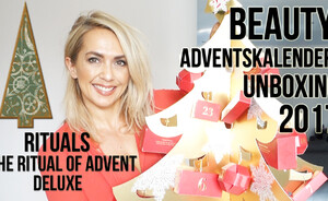 Adventskalender unboxing 2017 - Rituals The ritual of advent de luxe
