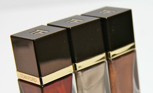 Tom Ford nagellak lente collectie 2012 - Silver smoke, Burned Topaz & Burnished red