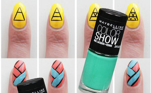 3 exclusieve Beautyscene nail art designs met Maybelline Color Show
