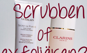 Beauty dilemma - scrubben of exfoliëren