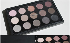 MAC Eye shadow X 15/Cool neutral - eerste indruk & swatches