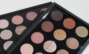 MAC Eye shadow X 15/Warm neutral - eerste indruk & swatches