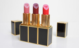 Tom  Ford Lip Color matte lipsticks Pink tease, Flame & Velvet Cherry