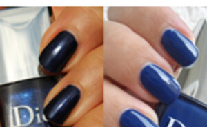Dior Blue Tie collectie  - Denim en Tuxedo nagellak