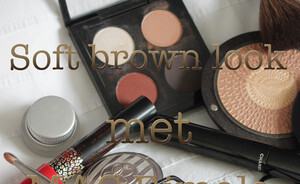 Soft brown eye met MAC Rimala Dahabia eyeshadow quad