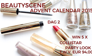 Beautyscene Adventskalender 2015 dag 2 - Collistar Party Look collectie