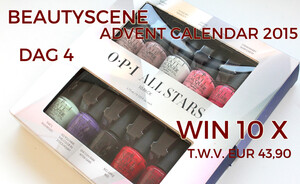Beautyscene Adventskalender 2015 dag 4 - OPI All Stars 10-pack