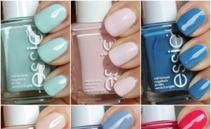 Essie Hide & Go chic lente nagellak collectie 2014 - swatches & review