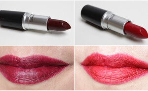 MAC Nasty Gal matte lipsticks Stunner & Runner - gorgeous!