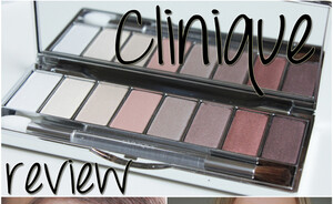 Clinique Neutral territory 2 all about shadow palette review (online exclusive)