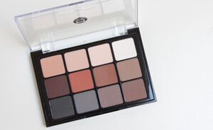 Viseart eyeshadow palette Neutral Matte - review, swatches & look