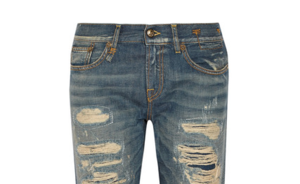 Fashion - de 10 coolste ripped & destroyed jeans