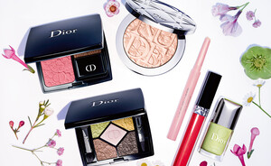 Dior Glowing Gardens lente make-up collectie 2016