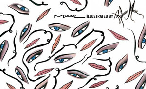 MAC Illustrated collection by Rebecca Moses NL 3 augustus 2013 (Bijenkorf exclusive)